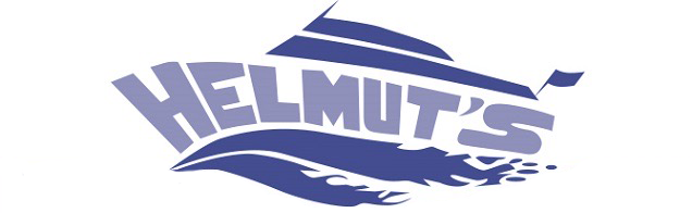 Helmut's Marine Service Logo
